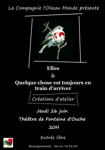 Affiche atelier spectacle